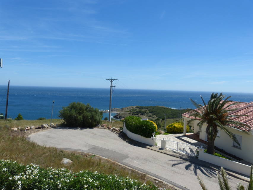 View of the coast of Llanca from the house for sale with Entercasa Spain real estate sea view Costa Brava holidays