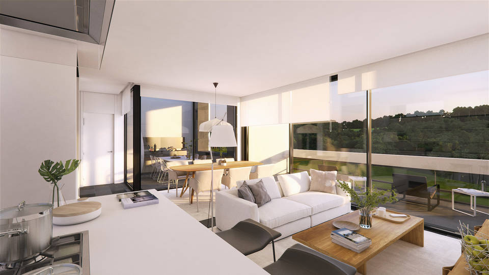La Selva Terrace Villas, located in the heart of the PGA Catalunya Resort Golf entercasa sale Spain